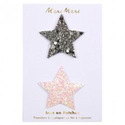 Patch étoile glitter