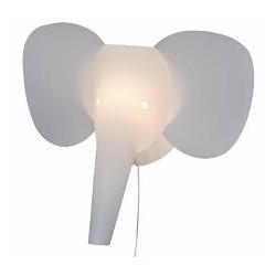 Lampe trophée éléphant