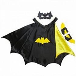 Set batman cape masque manchette