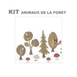 Kit animaux de la forêt