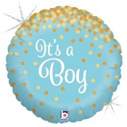 Ballon aluminium mylar - It's a Boy
