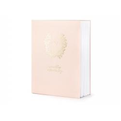 Livre d'or - Rose et or rosé