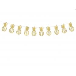 Guirlande ananas or - 2m