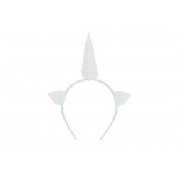 Serre-tête - Licorne Argent