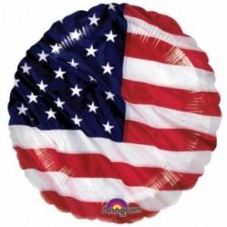 Ballon aluminium mylar - Americain- 45cm