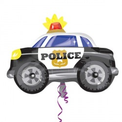 Ballon aluminium mylar - Police -60cm