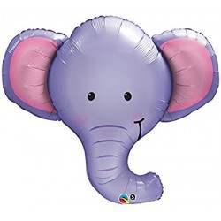 Ballon aluminium mylar - Elephant - 99cm