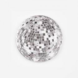 12 assiettes - Boule à facettes disco