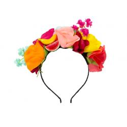 Couronne de fleurs tropical