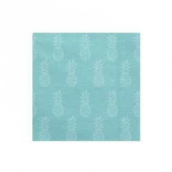 20 serviettes - Ananas menthe