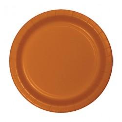 24 assiettes en carton - Safran