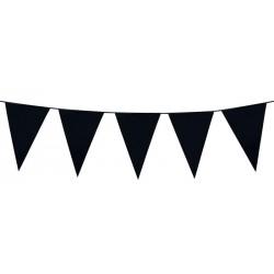 Guirlande fanions - Noir