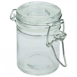 Mini pot à conserve en verre 4x6 cm