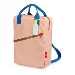 1 sac à dos large Zipper pink