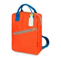 1 sac à dos large Zipper red