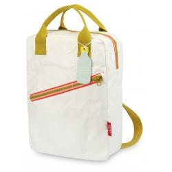 1 sac à dos large Zipper Tyvek