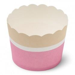 25 cupkakes carton fraise