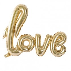 Ballon metal love or