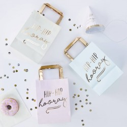 5 Party Bags - Hip Hip hooray