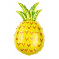 Ballon aluminium - Ananas