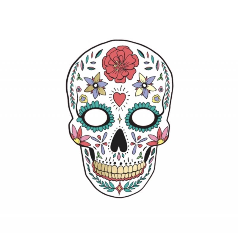 1 Masque Dia De Los Muertos