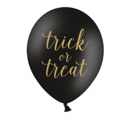 6 ballons Trick or Treat?