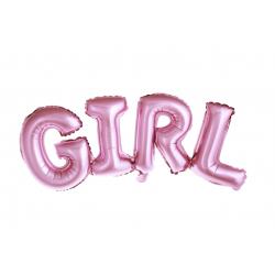 """Guirlande aluminium  """"Girl"""" - Rose"""