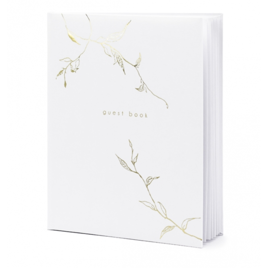 1 guest book végétal
