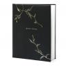 1 guest book végétal noir