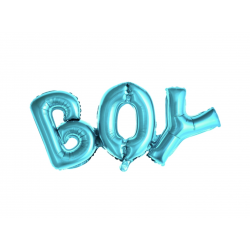 "Guirlande aluminium ""Boy"" - Bleu"