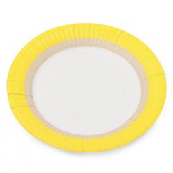 12 petites assiettes citron