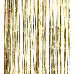 1 rideau mylar doré