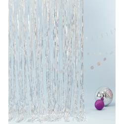 1 rideau mylar holographique