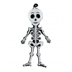 1 ballon squelette