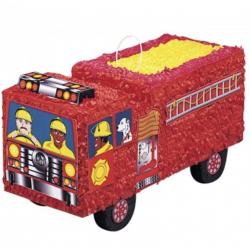 1 pinata camion de pompier