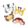 8 masques animaux