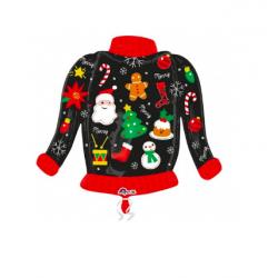 1 ballon Christmas Sweater (76cm x66cm)