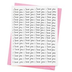 1 carte i love you all over