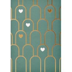 1 carte cactus coeur