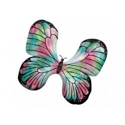 Ballon aluminium mylar - Papillon iridescent