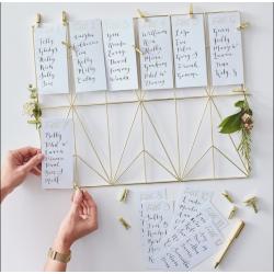 Kit Plan de table - Or