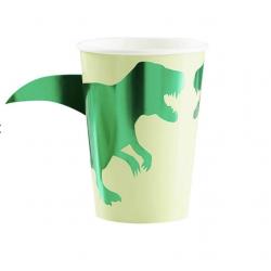 8 Gobelets dinosaure