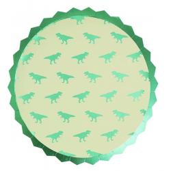 8 Assiettes dinosaures