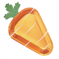 8 assiettes - Carotte