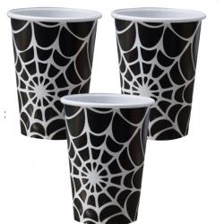 8 Gobelets - Toile d'araignée