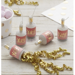 25 Poppers rose Yay!- Or