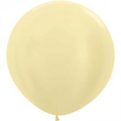Ballon géant - Ivoire satin