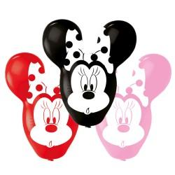 4 ballons géants Minnie