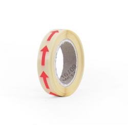 10 stickers - mini flèche 10x20mm - rose fluo