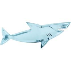 4 assiettes plateau requin